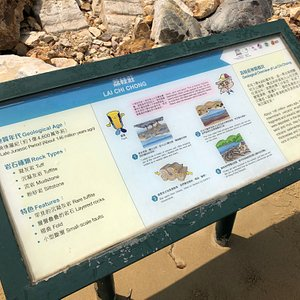 Lai Chi Chong Geosite - important information to help explain some of what you are looking at