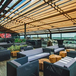 The Attic rooftop bar