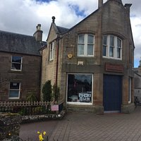 Alness Heritage Centre at the east end of Alness High Street