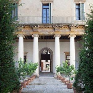 Cortile interno del palazzo