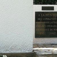 Monument Des Combattants d'Afrique Du Nord