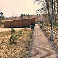 Sightseeing Terrace by the River Gauja