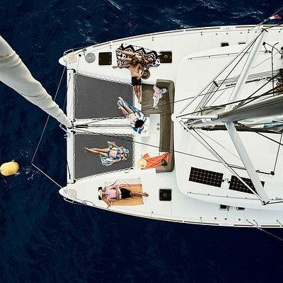 Relaxing on board
