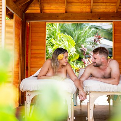 Couples Massage in our famous Tropical Garden
