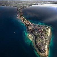 La penisola di Sirmione-  panoramica di A.Bagagiolo