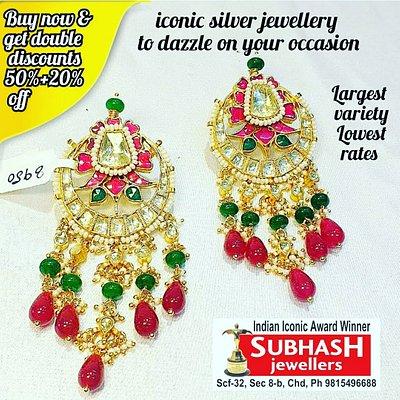 subhash jewellers silver scf 32 sector 8 b Chandigarh