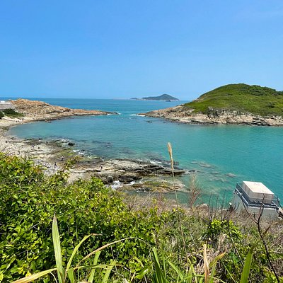 Cape D'Aguilar Marine Reserve is an isolated and stunningly beautiful protected area on the southeastern most point of Hong Kong island.