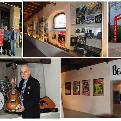 a look inside the Beatles Museum... in the Museum of the Mille Miglia in Brescia