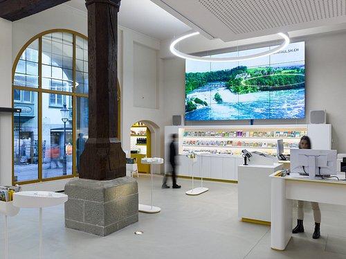Das Visitor Centre mitten in der Schaffhauser Altstadt