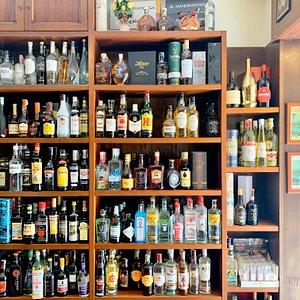 Wine and Liquors shop