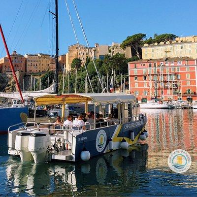 Départ du Vieux Port de Bastia