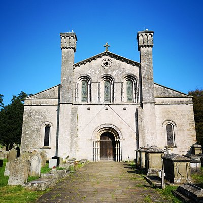Margam Abbey, Port Talbot, SA13 2TA  Junction 38 M4. Open 1030-1530 in summer, outside of services.  Church in Wales remaining nave of major Cistercian Abbey founded in 1147.  www.parishofmargam.org.uk Rennaisance Tombs Mansels, Talbot Chapel, William Morris Windows.  Gift shop and free tours.  Free parking at front.
