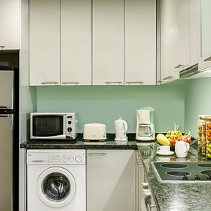 Kitchen Area of 1 Bedroom Executive