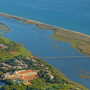 Aerial View of Hotel Quinta do Lago