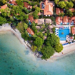 Exterior & Private Beach