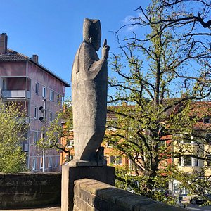 St. Pirmin segnet die Stadt