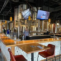 View of the Bar and the Brewery