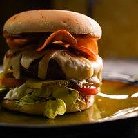 Бургер с рубленой котлетой