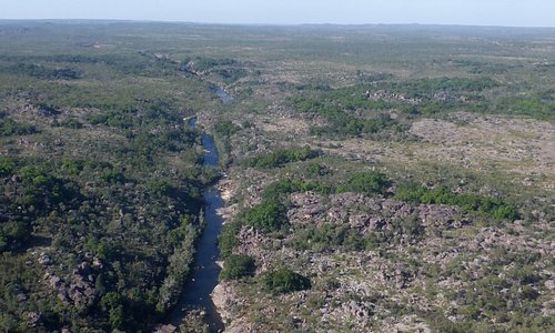 Kakadu from the air.