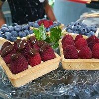 Tartellette di frutta fresca e crema pasticcera