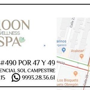 Ubicación: calle 20 no 490 x 47 y 49 Fracc. Residencial Sol Campestre Mérida Yucatán Tel. 9993.28.36.61