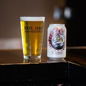 Our award winning flagship beer - Long Day Lager!