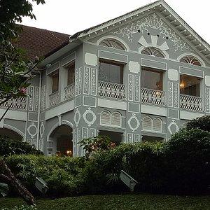 Facade of Eden Hall