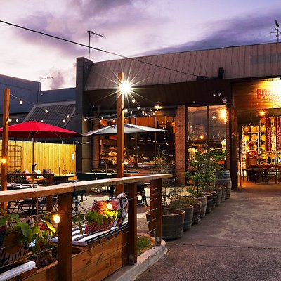 The Barrel Room is attached to a beautiful beer garden, perfect in the warmer months for a visit.
