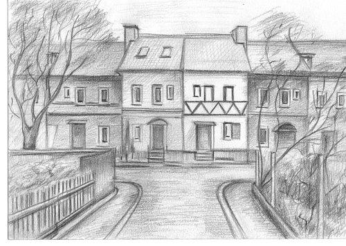 Рисунок музея от наших талантливых посетителей