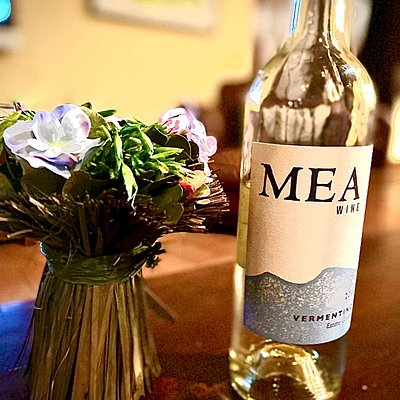 MEA Wine. 2019 Vermentino - Estate grown. Our vineyard is located in the Adelaida District AVA in north-west Paso Robles, CA.