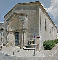 Temple Protestant St Foy la Grande from Google Earth