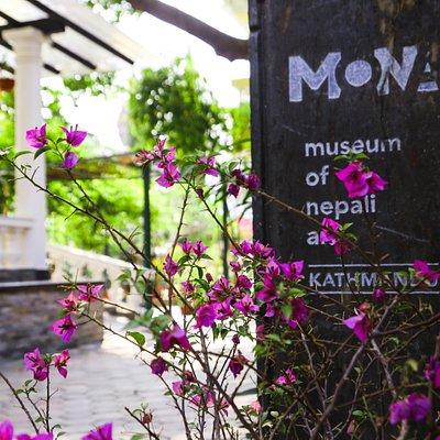 Museum Entrance Signage