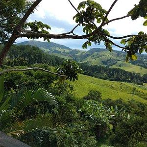Cunha SP - Mantiqueira 151 - Queijos Artesanais (Vista do Deck)