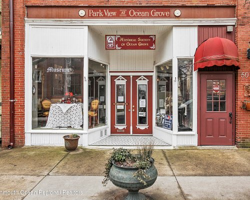 Historical Society of Ocean Grove.  Open seasonally at 50 Pitman Ave. on the Great Auditorium Park.
