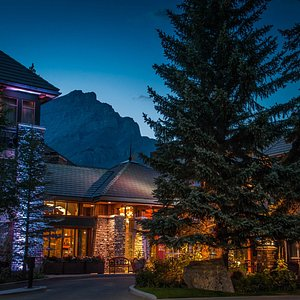 Exterior Night - Royal Canadian Lodge