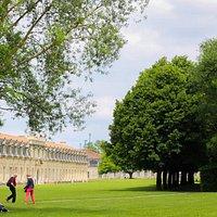Jardin des retours à Rochefort (Charente-Maritime - France)