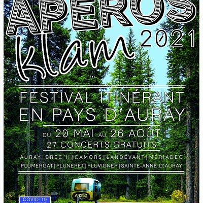 Voilà l'affiche officielle du festival que vous pourrez observez dans la région d'Auray tout l'été ! ATTENTION : FESTIVAL ITINERANT !  Pour toutes informations supplémentaires, contactez nous :D  contact@klam-records.com