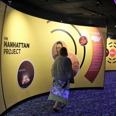 Manhattan Project exhibit.
