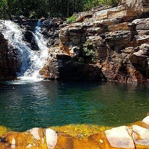 Cachoeira do Lobo, Cachoeira Paraíso e Piscina Natural