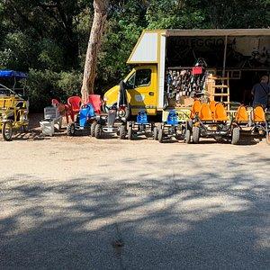 Noleggio bici gokart a pedali riscio'  riparazioni e assistenza , Bici elettriche solo su prenotazione  vendita usato e nuovo