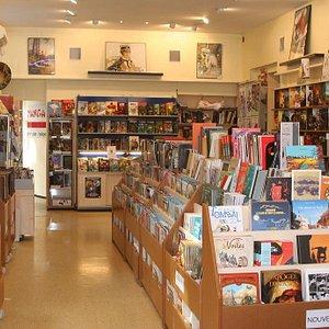 Librairie indépendante depuis 27 ans : spécialiste BD, Comics VO & VF, Manga et Littérature de L'imaginaire.
