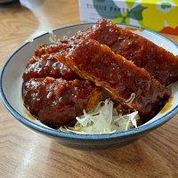 奥会津の食堂は、トンカツが美味しいんだ!
