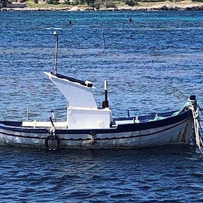 La Barchetta 🚣🏿♂️ dondola sulla increspatura del mare ....