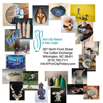 Gallery with amazing 3D artists from our region. Located in the historic Cotton Exchange.