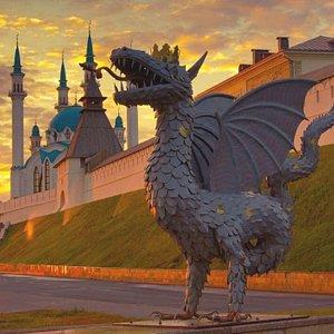 Зилант - мифологическое существо, символ Казани