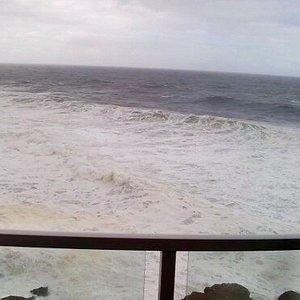 Panoramic view from WorldMark resort in Depoe Bay.