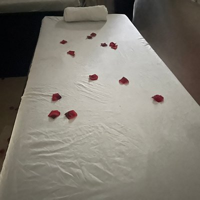 Comfort resides in our sheets and you will leave feeling more relaxed. #SkenzyYoung #Spa #massage #SwedishMassage