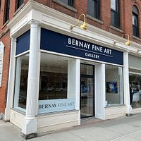 This is our new sign on our new location at 296 Main Street in the middle of Great Barrington. The cross street is Railroad Street.