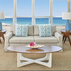 QKH Penthouse Ocean View Living Area
