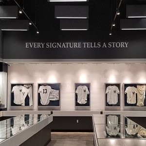 The Fogelman Museum houses more than 1,200 pieces of sports memorabilia.